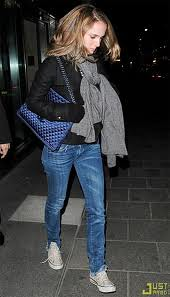 Natalie Portman Converse Celebrity Style Women's Fashion