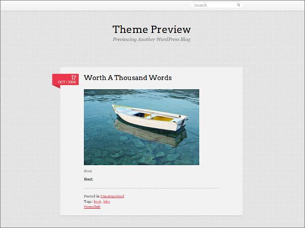 Pink Touch 2 Free WordPress Theme