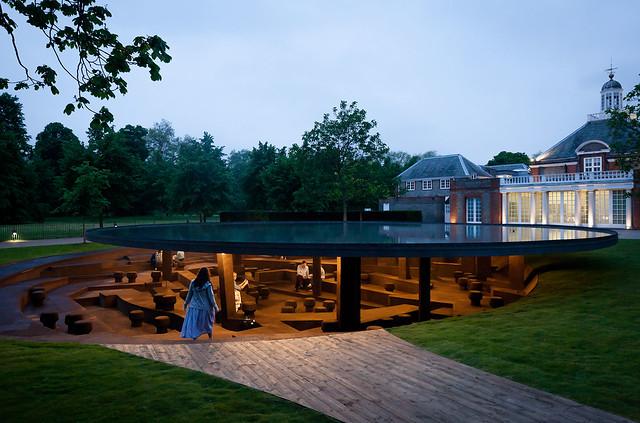 2012 Serpentine Gallery Pavilion, Londres, Reino Unido