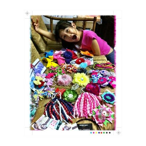 It's fun to be a girl! #squaready #packingstuffawaymakesyourealize @daintyashley
