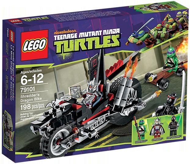 LEGO Teenage Mutant Ninja Turtles 79101 - Shredders Dragon Bike