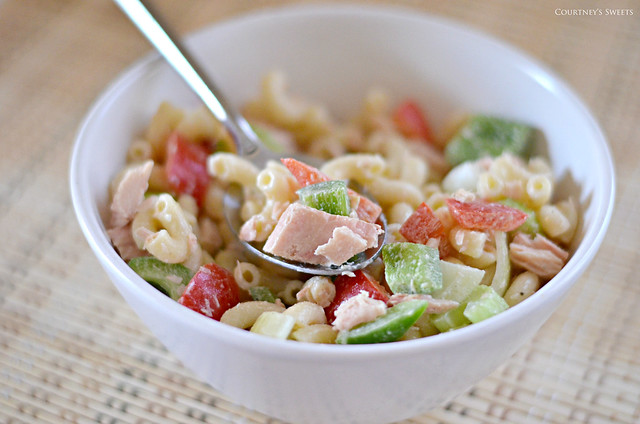 Mom's Tuna Macaroni Salad