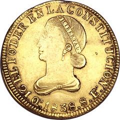 1838 escudo obv