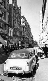 Rue d'Arzeu à Oran - 1955 - Photo JP Vasse (Retina Kodak)