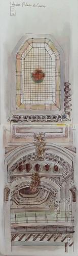 Interior Palacio de Correos by Lauradlamota