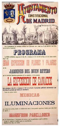 019-Programa de la feria de Madrid de 1880-Copyright Biblioteca Nacional de España