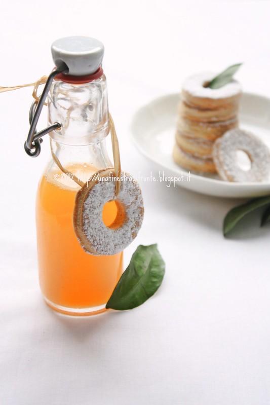 Biscotti al miele e mandarino