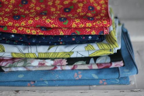 vintage cloth napkins.