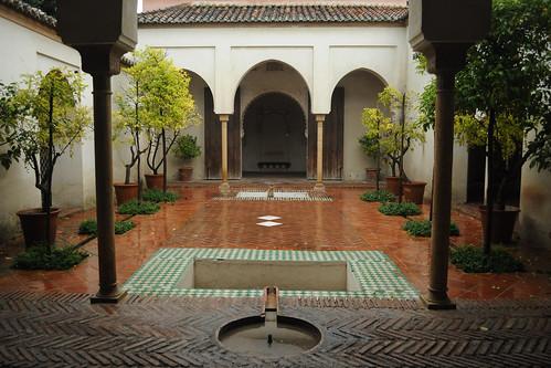 Alcazaba courtyard #1