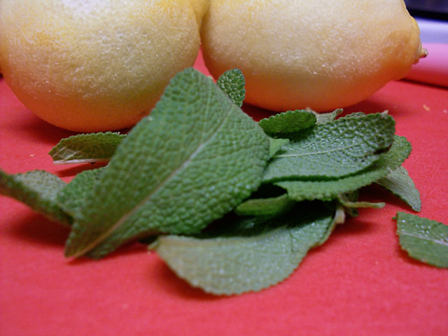 Lemon and Sage