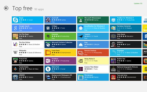 Windows 8 - Windows App Store