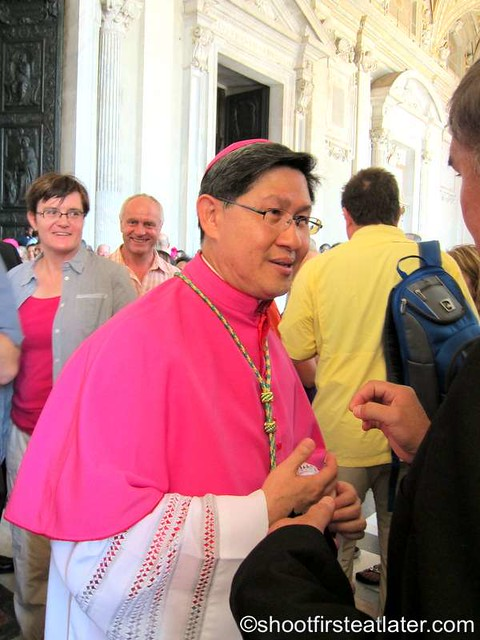 Papal mass at the Vatican- Archbishop Luis Antonio Tagle-002