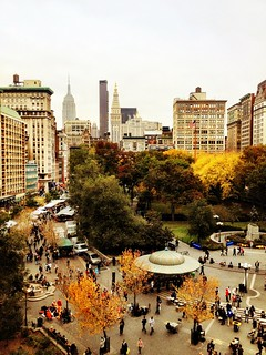 Autumn in New York City - Overlooking Union Square
