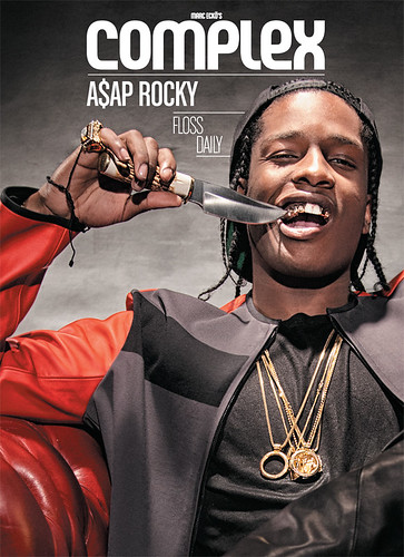 A$AP ROCKY COMPLEX MAGAZINE COVER. Asap rocky on the cover of complex magazine dec 2012 issue plus watch a video of him talking