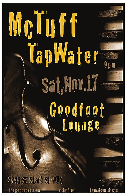 Tapwater & McTuff @ Goodfoot Lounge