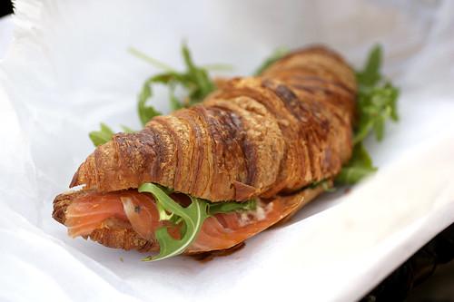 smoked salmon @ croissanteria