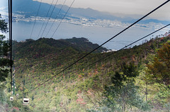 mountain, tree, mountain range, cable car, mountainous landforms,