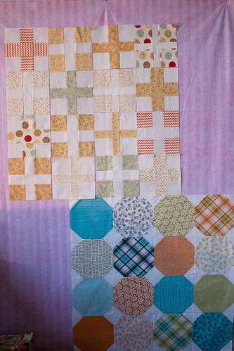 Baby Quilts in Progress