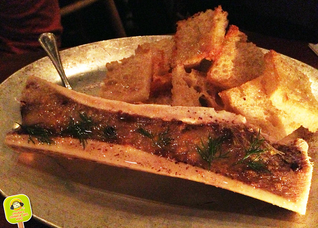 Hillside - roasted bone marrow