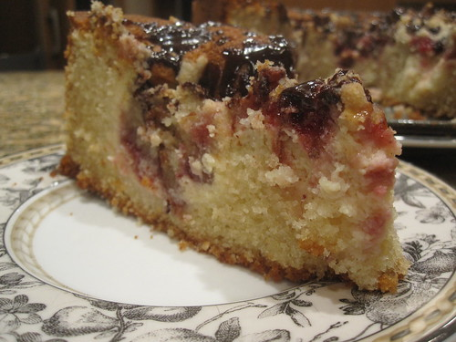 Raspberry Cheese Coffee Cake