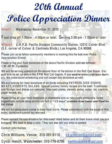 LAPD Dinner