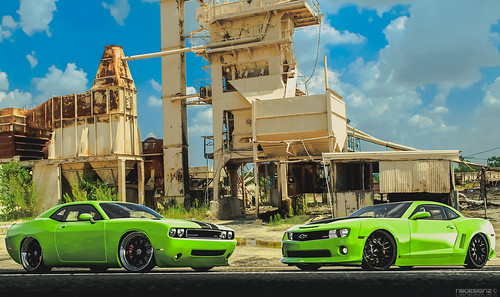 Geiger-Cars Challenger SRT and Camaro SS
