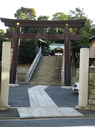 高輪氷川神社(白金高輪)