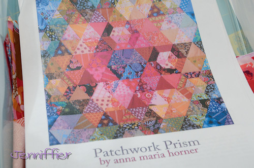 Patchwork Prism Work in Progress box