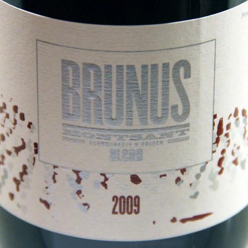 BRUNUS 2009 - PORTAL DE MONTSANT - VINO DEL MES