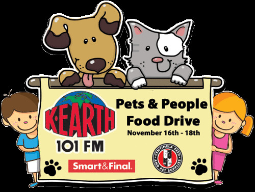 K-Earth 'Pets & People Food Drive'