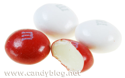 M&Ms White Chocolate Peppermint