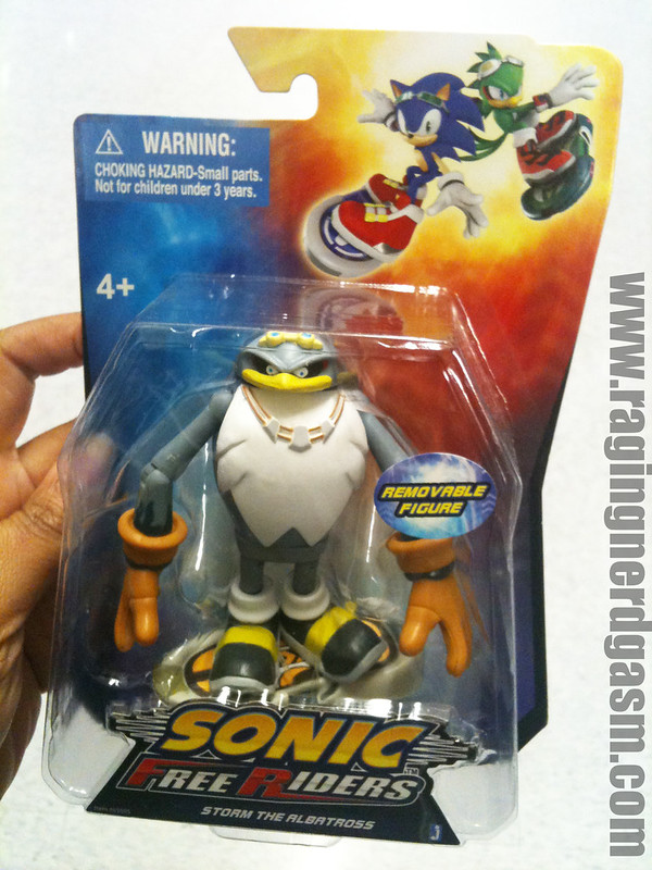 Sonic Free Riders Storm The Albatross by Jazwares 001