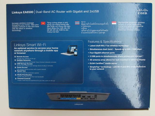EA6500 - Box Back