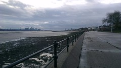 Liverpool from Vale Park Promenade Gates: Copyright 20th November, 2012 Kevin & Jane Moor