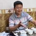 M. Yang, producteur et collectionneur de vieux wulong