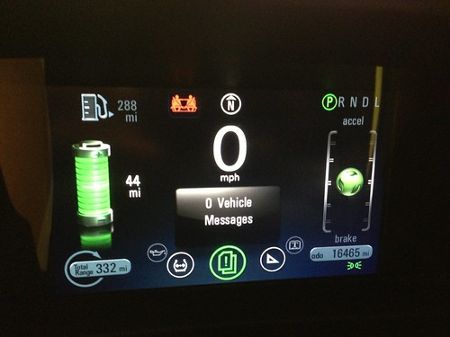 Chevy Volt Test Drive