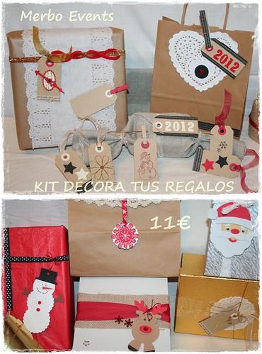 Kit decora tus regalos