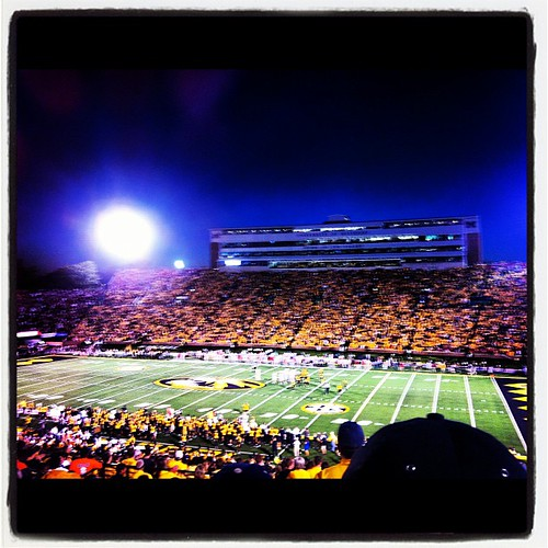 Miz-zou. Had fun at the game last night if we can forget the 4th quarter. :)