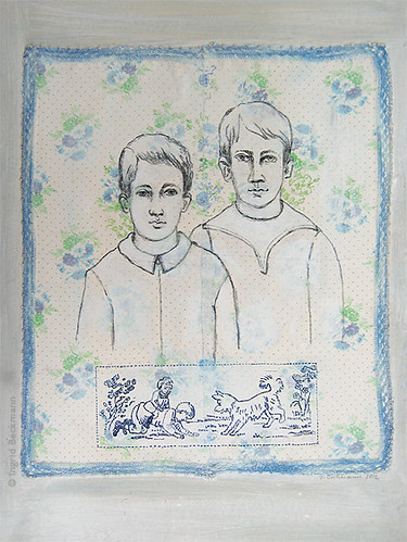 Brüder / two brothers by Inky's Journal
