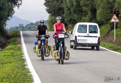 327/365+1  Recorriendo el mundo a golpe de pedal 1. by Bakalito (Antonio Benítez Paz)