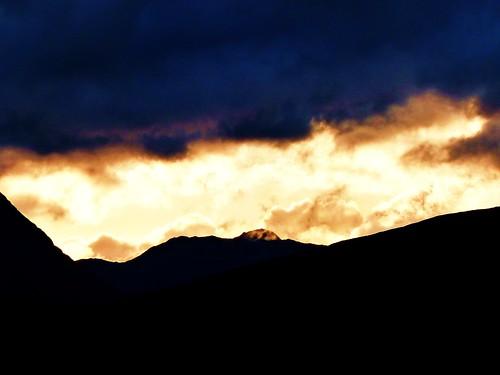 Sunset at Rannoch Moor