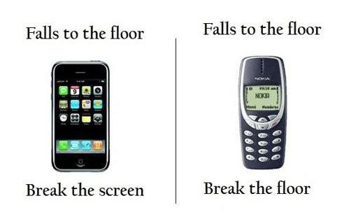 Nokia Lumia 920: falls to the floor breaks the floor