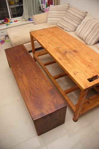 木工 板凳 20121124_3