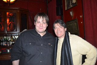 Jack Ketchum (with fan Trevor Firetog)