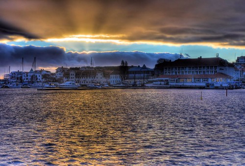 SUNSET IN SVEDEN 1 by Davide Comotti