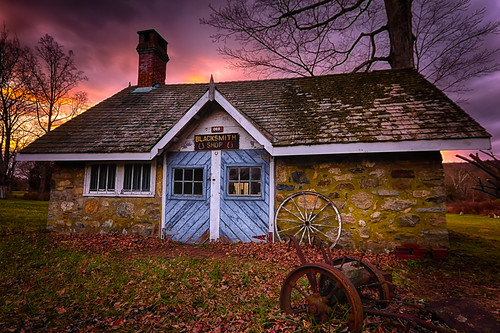 sunset sky shop newjersey nj blacksmith hdr ringwood passaiccounty ringwoodstatepark