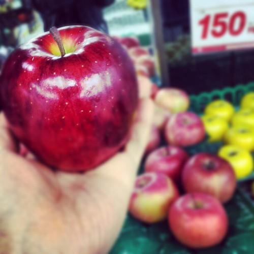 りんごの時間です #fruit #apple