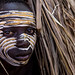 Surma tribe child with face painting by anthony pappone photographer