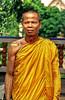 Monje en Ayutthaya | Tailandia Un monje tatuado