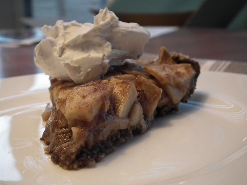 Gluten-Free Apple Pie with Coconut Whipped Cream